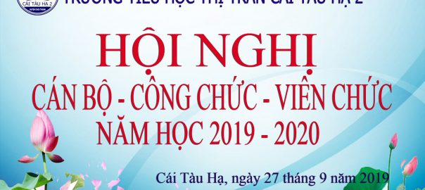 HOI NGHI CBCVC 2019